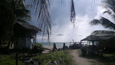 Photo: About 2km from my bung, end of beach jogging route, where I like to drink 1 beer every afternoon.