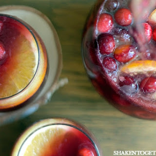 Holiday Sparkling Sangria Punch.