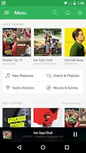 Saavn Music & Radio Screenshot 5