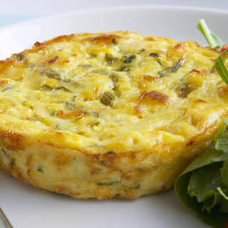 Individual Chicken and Corn Frittatas.