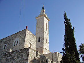 Photo: The Church of the Visitation, said to be built over the home of John the Baptist's parents