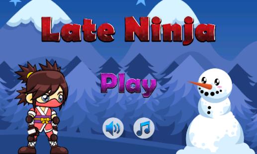 Late Ninja - náhled