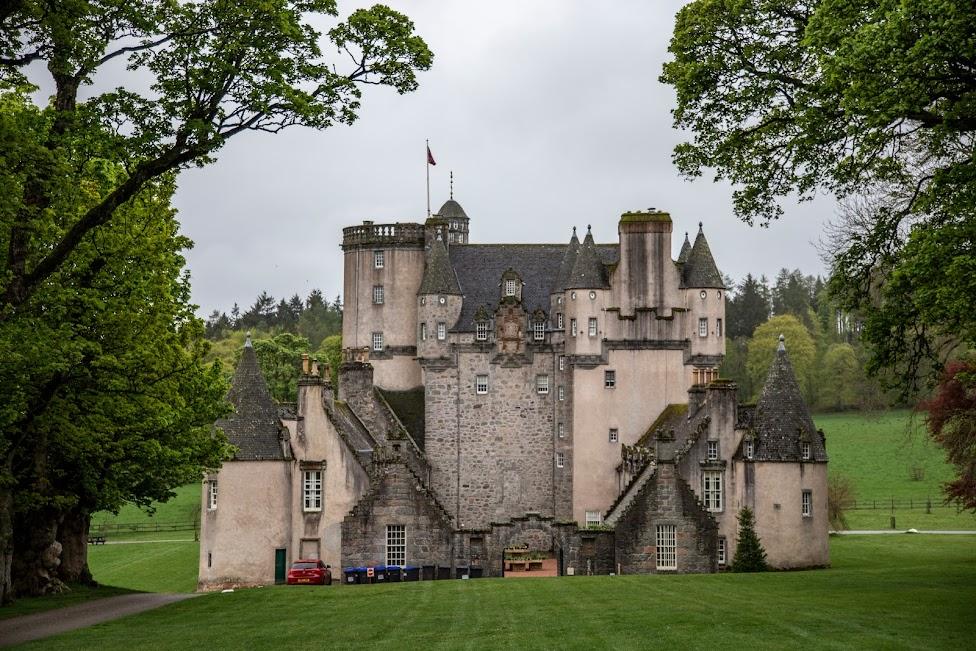 szkockie zamki, Fraser Castle, Szkocja