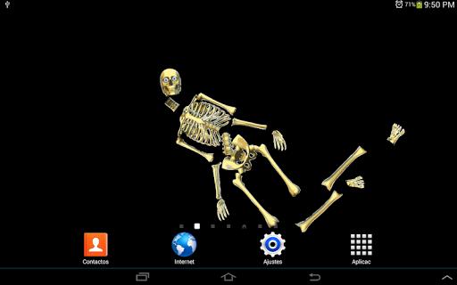 Skeleton Live wallpaper 1 screenshots 6