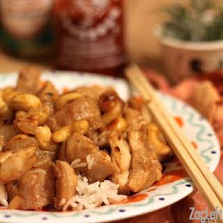 College Student Meals - Cashew Chicken & Quesadillas Week.