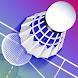 バドミントン3D 現実的なバドミントンゲーム - Androidアプリ