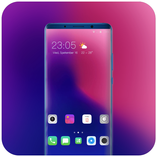 Theme for Oppo Realme 2 shaping wallpaper icon