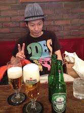 Photo: 稽古前に…飲んじゃってまーす笑)5/6