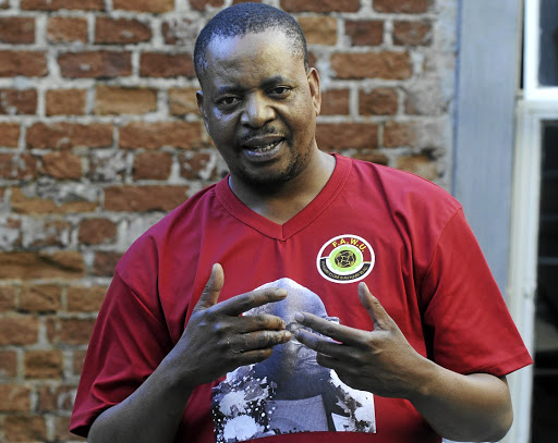 Wake up: Katishi Masemola, general secretary of Fawu, hopes to make ordinary EU citizens aware of the damage to the sector. Picture: FINANCIAL MAIL