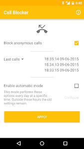 Anonymous Call Blocker v1.6.b