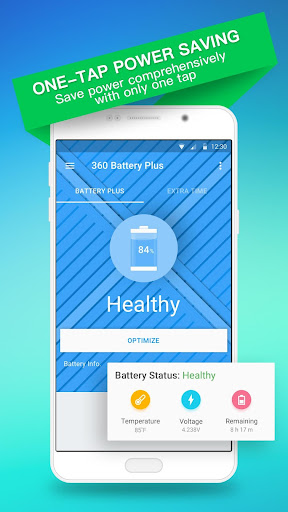 360 Battery - Battery Saver, Phone Cooler, Cleaner screenshot 1