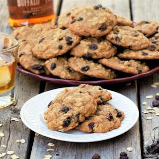 Oatmeal Bourbon Raisin Cookies Recipe