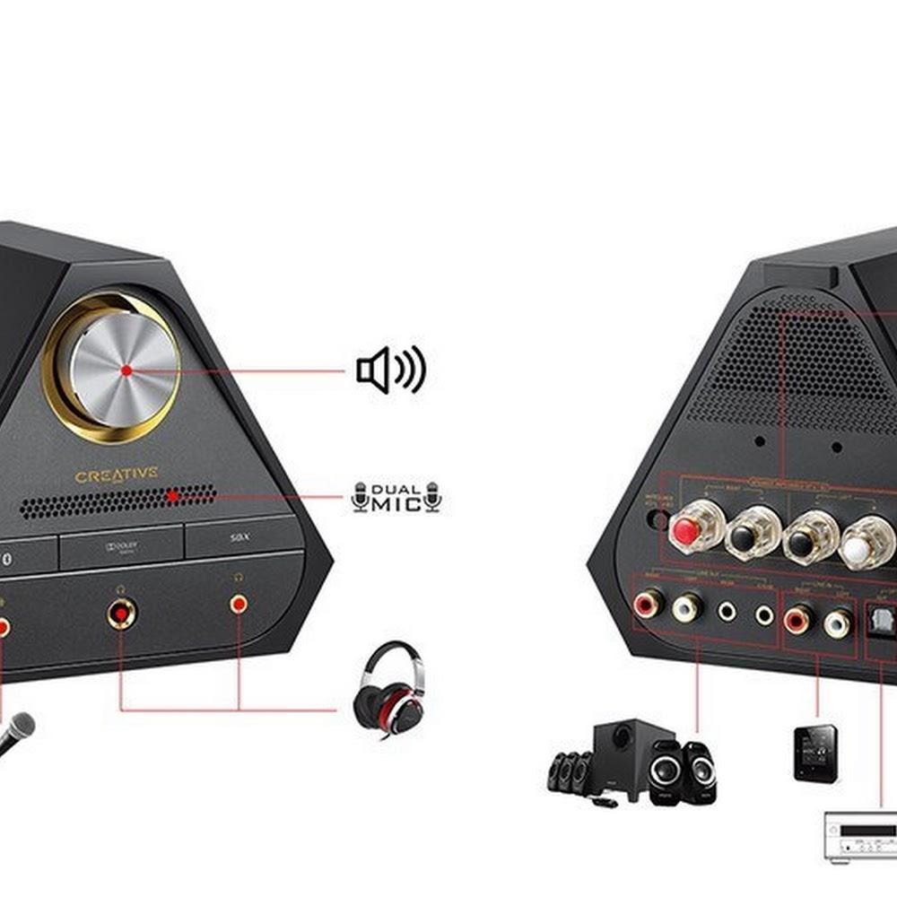 Creative Sound Blaster X7 Black