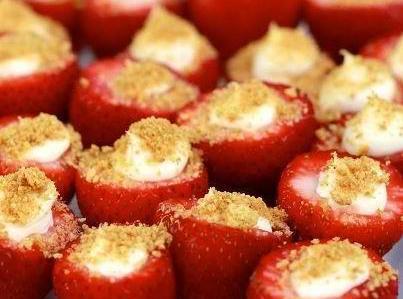 Cheesecake Stuffed Strawberries Recipe