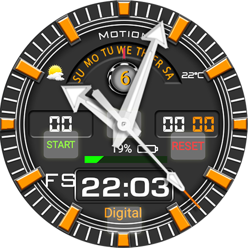 Motion Watch Face