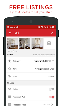 Carousell: Snap-Sell, Chat-Buy 2.1.7 screenshot 237386
