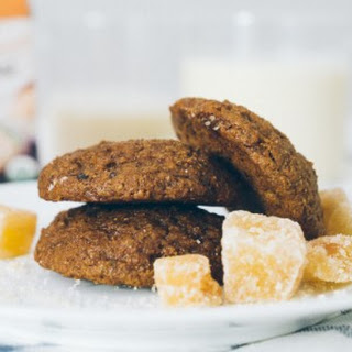 Triple Ginger Oatmeal Cookies.