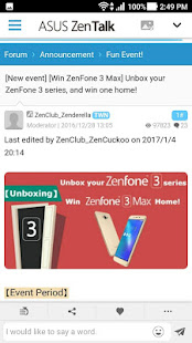 ASUS ZenTalk Community
