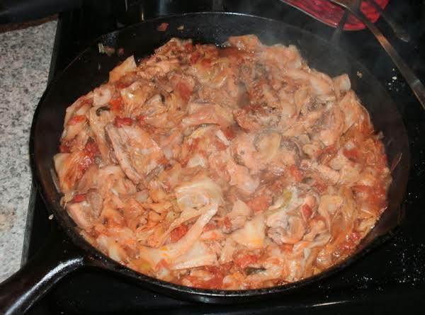 Chicken Skillet Stew