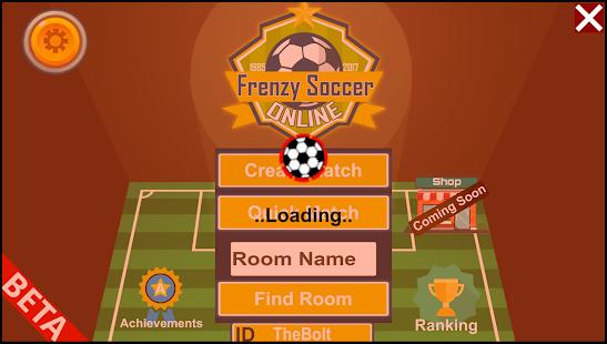Frenzy Soccer Online - náhled