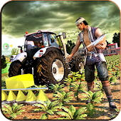 Real Tractor Farming Simulator 3D:New Tractor Game Android APK Download Free By Endgames