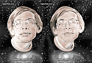 Photo: Stephen Hawking: Visions of a photons and warp drive