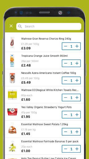 Ocado Zoom grocery delivery screenshot 7