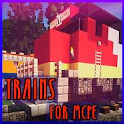 Trains mod for MCPE