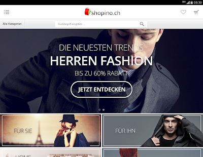 Shopino.ch - Deals in Fashion - náhled