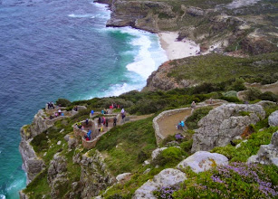 Photo: The walk to the lighthouse at Cape Point.