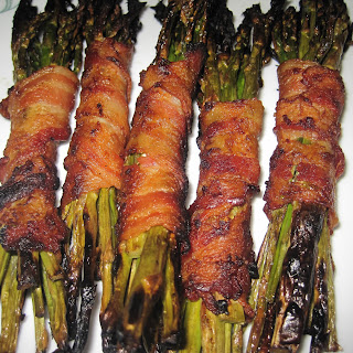 Grilled Bacon Wrapped Asparagus Bundles