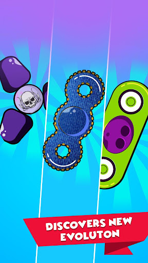 Fidget Spinner Merger - Fidget Evolution 1.1.2 screenshots 5