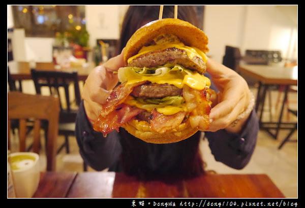格子SQUARE'S美式餐廳|頭份早午餐|尚順廣場商圈|美式漢堡 @ 東蛙池塘。DongWa