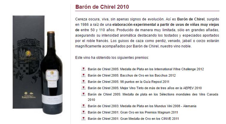 Barón de Chirei 2010