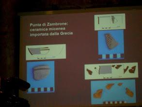 Photo: Reperti 4 scavi Punta di Zambrone