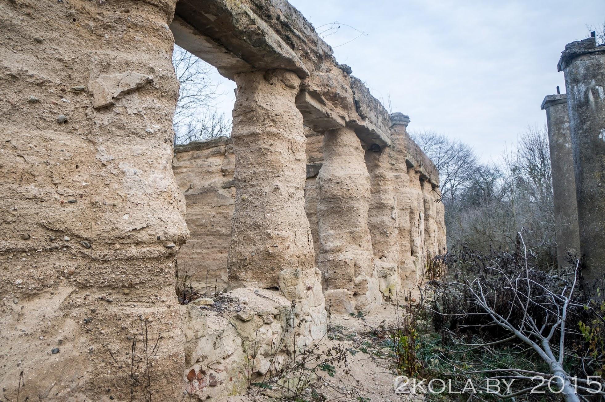 Руины усадебного дома в д. Рудавка