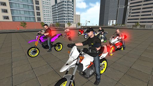 Bike Driving Simulator: Police Chase & Escape Game screenshots 1
