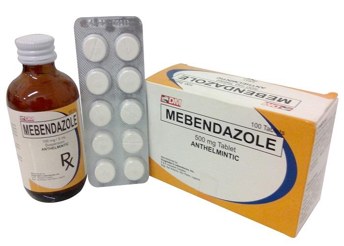 Mebendazole là một thuốc thường được dùng chữa bệnh giun kim