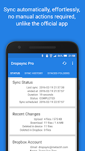 Autosync Dropbox – Dropsync v4.2.8 [Ultimate] APK 2