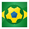 Brazilian Football icon