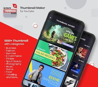 Ultimate Thumbnail Maker For Youtube: Banner Maker 1