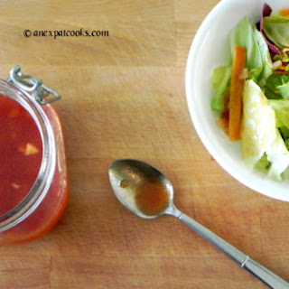 Homemade Catalina Dressing.
