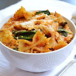 Zesty Tomato & Artichoke Pasta.