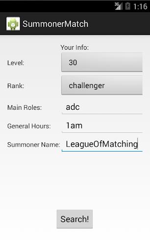 Summoner Match