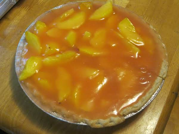 Peach Jello Pie Recipe