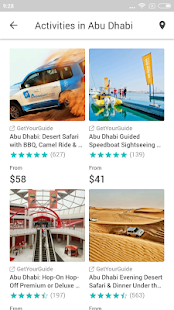 Abu Dhabi Travel Guide in english with map