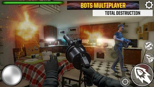 Télécharger Gratuit Granny Kick Neighbor - simulateur d'armes 3D mod apk screenshots 5