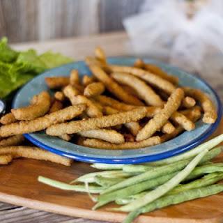 Copycat TGI Friday's Green Bean Fries.