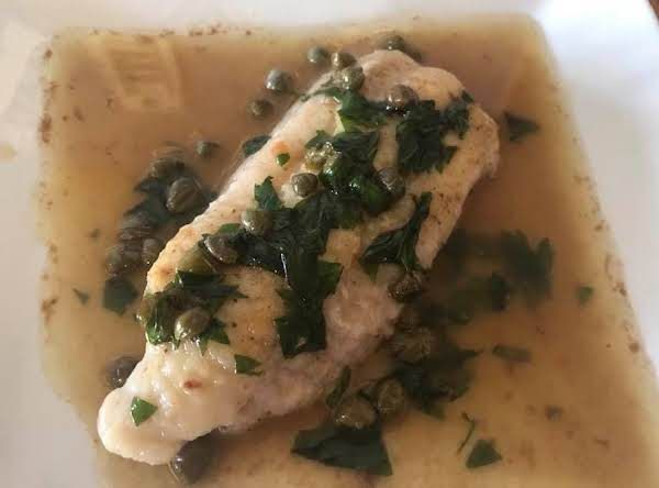 Pan Fried Catfish W Parsley, Capers & Brown Butter