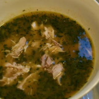 Classic Cuban Chicken Soup.